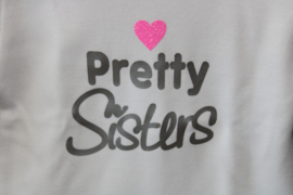 Shirtje 'Pretty Sisters'