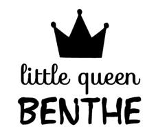 Little queen gepersonaliseerd