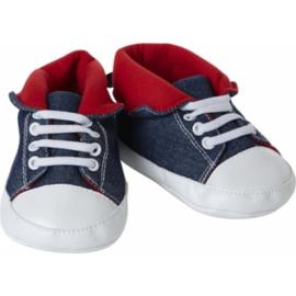 schoenen blauw 65 cm W472
