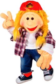 Living puppets handpop Katie Kickflip 65 cm W768