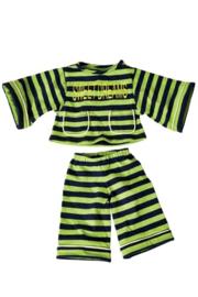 pyjama strepen 65 cm W739