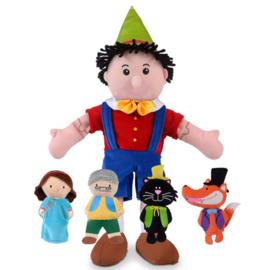 Pinocchio + 4 fig