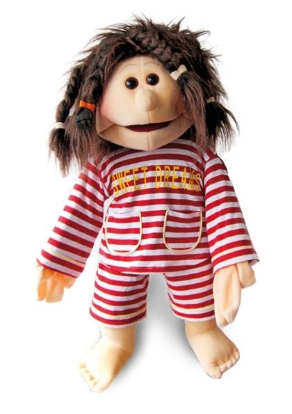 Living puppets handpop Luna in pyjama 65 cm 5509