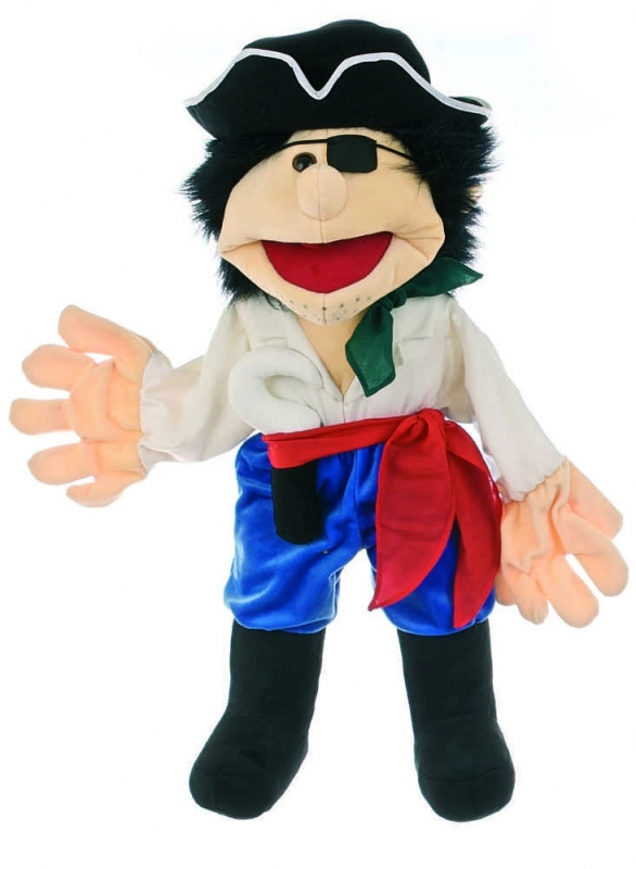 Living puppets handpop piraat 65 cm W033