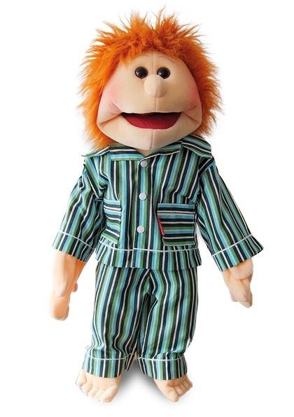 Living puppets handpop Viktor in pyjama 65 cm