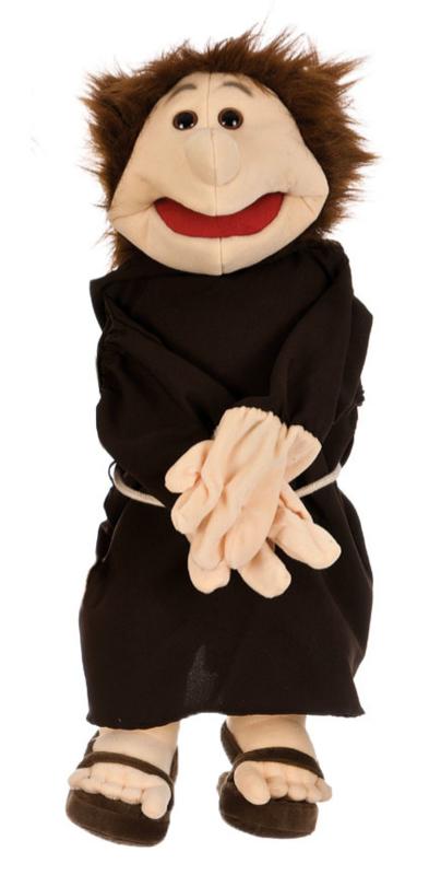 Living puppets handpop monnik W060