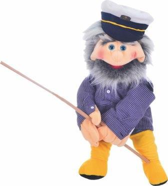 Living puppets handpop kapitein Hansen 65 cm W752