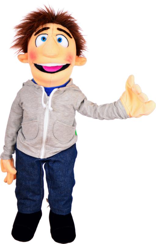 Living puppets handpop Mister Sunday W759 70 cm