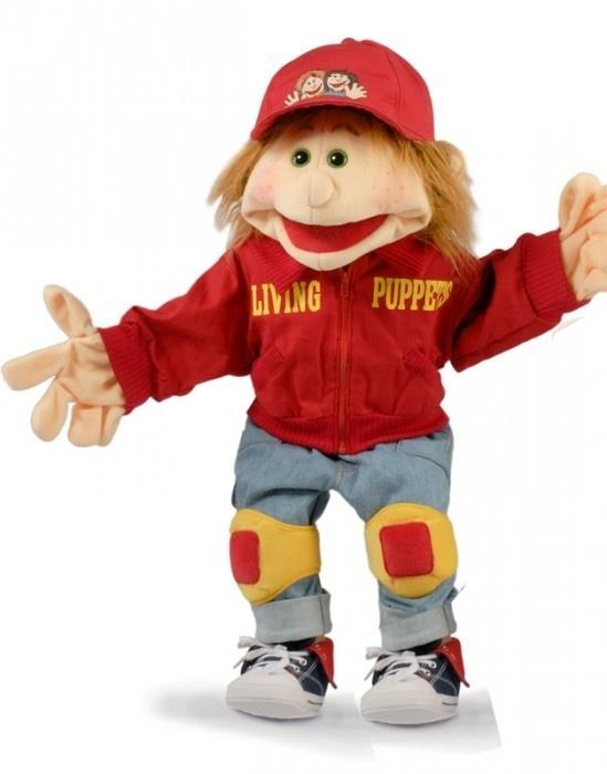 Living puppets handpop Lutzi skater 65 cm W312