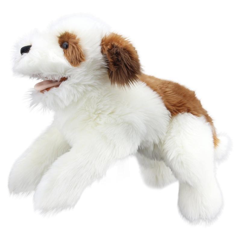 hond bruin/wit PC003008