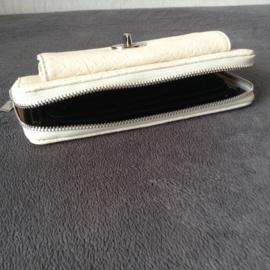 Portemonnee / clutch in kroko design