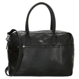 Ruime laptoptas, zwart 15,6 inch (38 cm)  - Charm London Farringdon