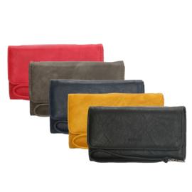 Ruime portemonnee met polsbandje, rood – Beagles