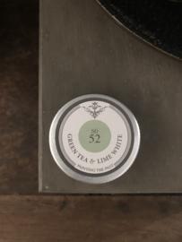 Geurtinnetje NO 52 Green Tea & Lime White