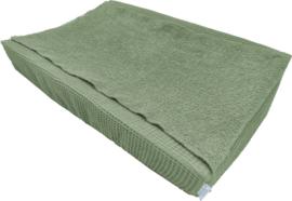 Aankleedkussenhoes oud groen