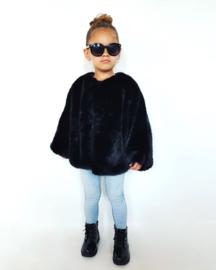 Jacket - Faux Fur - Black