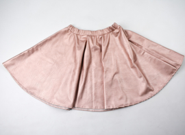 Sample sale - Dames Cirkel Rok - Metallic roze