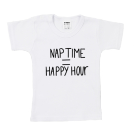 Shirt | Nap Time = Happy Hour