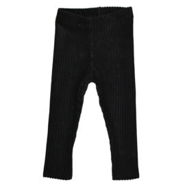 Legging | Rib Black | Handmade
