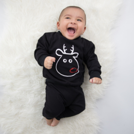 Track Suit | Funny Rudolph | Black