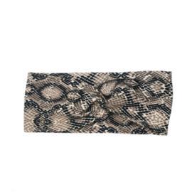 Headband Twist | Snake Print | Handmade