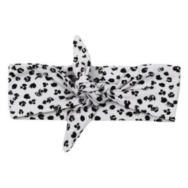 Headband | Leopard Grey | Handmade