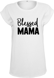 Woman Shirt - Blessed Mama