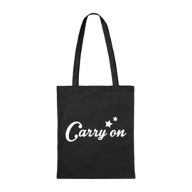 Canvas tas - Carry on - Zwart