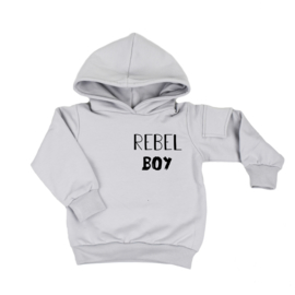 Hoodie With Side Pocket | Rebel Boy | 6 Colours