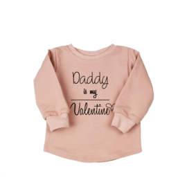 Soft Sweater   Daddy is my Valentine