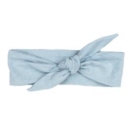 Headband | Stripy Blue | Handmade