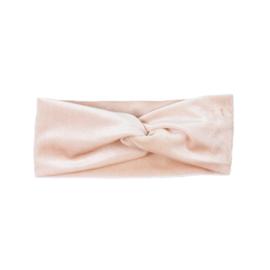 Haarband Twist | Velvet | Baby Rose | Handmade