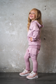 Hoodie suit with cargopocket | Possible | SHADOW MAUVE