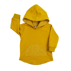 Hoodie | Long Sleeve | Mellow Yellow & Sprinkle Ochre