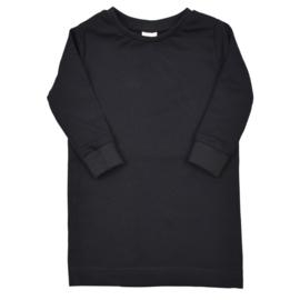 T-Shirt Dress | Black | Handmade