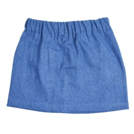 Skirt | Jeans | Blue | Handmade