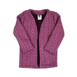 Lang vest | Cable | Purple Grape | Handmade