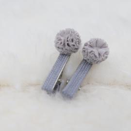 Hair Clip | Grey | 2 Pieces