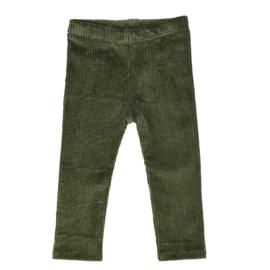 Legging | Cotton Rib | Khaki | Handmade