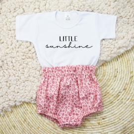 Shirt Little Sunshine | Bloomer | Leopard Pink