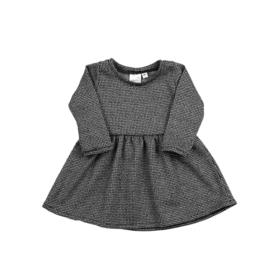SS   Longsleeve Dress   Black&White Sparkle   68