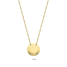 Coin Necklace | Personalized | Gold