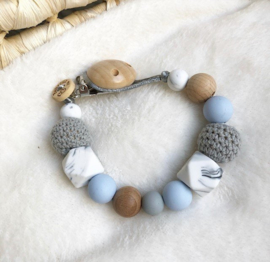 Pacifier Clip | Baby Blue