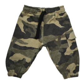 Oversized Sweatpants with Cargopocket | Camo | Handmade