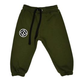 Royal Rebel | Oversized Sweatpants | Army Green