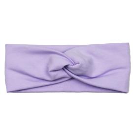 Headband Twist | Purple Rose | Handmade