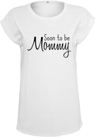 Dames Shirt - Soon to be Mommy