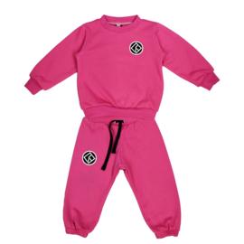 Royal Rebel Set | Sweater | Oversized | Fuchsia Pink