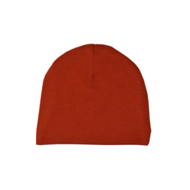 Beanie | Reddish Brown | Handmade