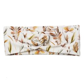 Headband Twist | Leaves | Handmade